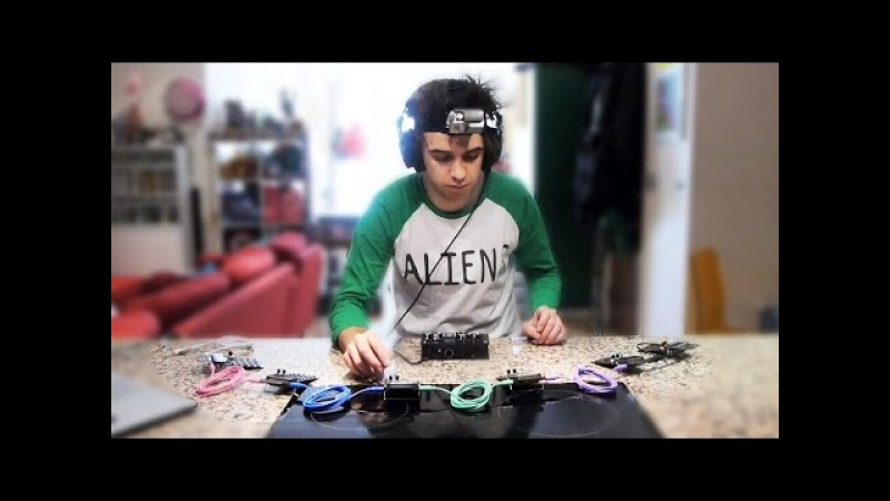 Live Jam With Six Pocket Operators MicroGranny 2
