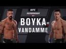 EA SPORTS UFC 2 Yuri Boyka v Jean Claude Van Damme