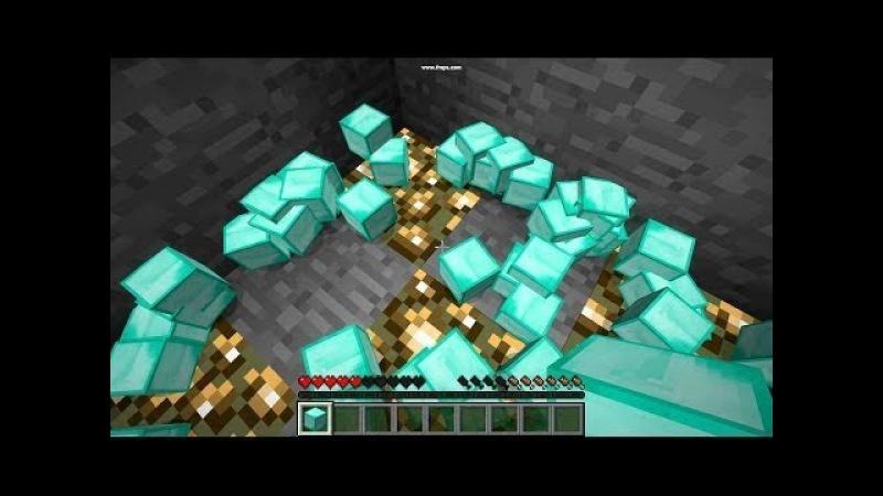 дюпы в майнкрафт на алмазы 1.9 #1