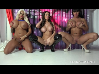 Candy Charms & Ree Petra & Kerry Louise - REE/KERRY/CANDY HEROES [Blonde, Brunette, Big Tits, Threesome] [1080p]