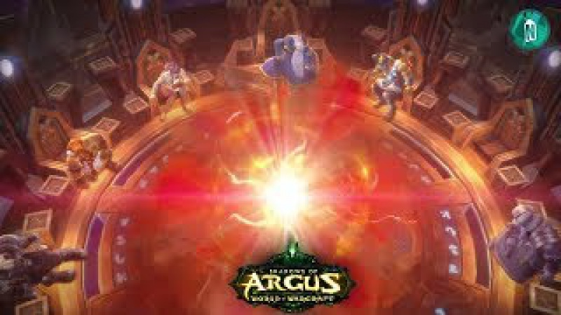 Seat of the Pantheon Rise of Argus Cinematic patch 7 3 2 Antorus the Burning Throne