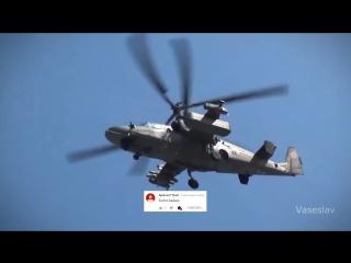 Вертолет Ка-52 Аллигатор - Музон огонь и Комментарии иностранцев