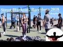 Street Workout Calistenics Barcelona beach 2018 Спорт в районе Барселонеты