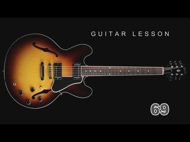Guitar Lesson 69 Fingerstyle Песня из фильма 17 мгновений весны Мгновения Gitarrenunterricht 吉他课