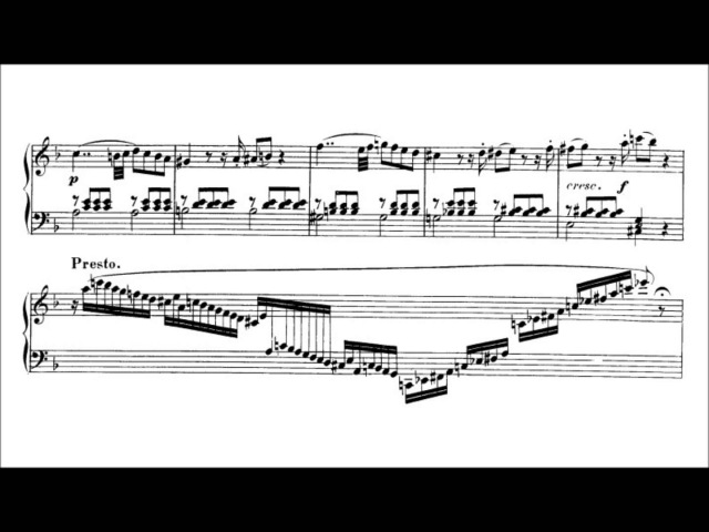Wolfgang Amadeus Mozart - K.397, Fantasia in D minor