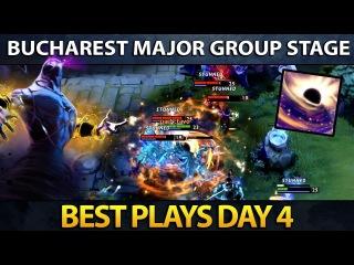 Dota 2 The Bucharest Major - Best Plays - Day 4