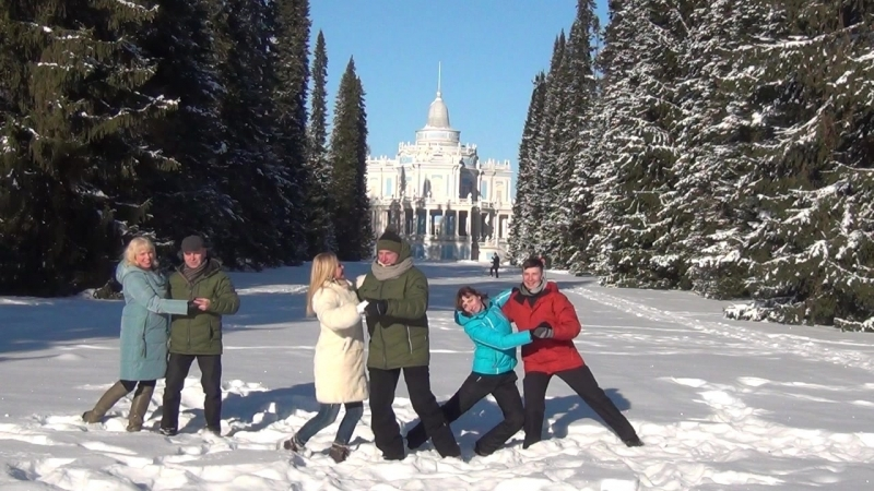 Танго в снегу По-питерски