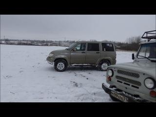 Клуб УАЗ Патриот Тула - прокатка маршрута БУЕРАК. Тест АТ, МТ, ХТ и зимней резины!