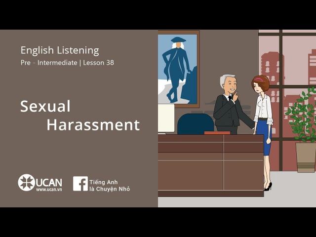 Learn English Listening | Pre-Intermediate - LV3 38. Sexual Harassment