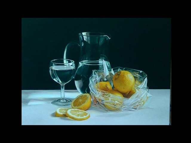 Pintura al óleo Limones