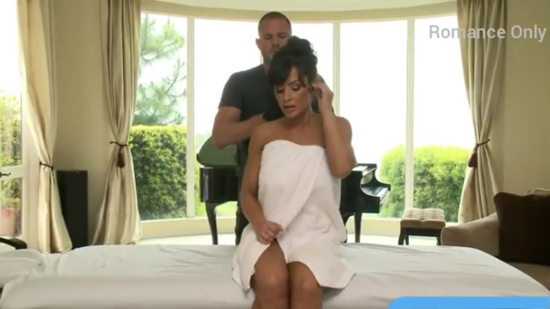 Lisa Ann Fitness Body Massage by Personal Trainer With Hot workout, Sex Porno Lisa Ann 2018