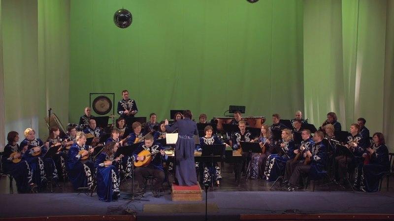 В Панин Регтайм из Концертино для домры пикколо и домры бас ОРНИ Росияне Тамбов