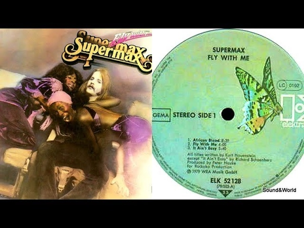 Supermax – Fly With Me (Vinyl, LP, Album) 1979.