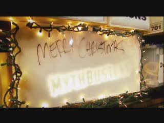 Mythbusters christmas special rube goldberg machine #таверна_steampunk