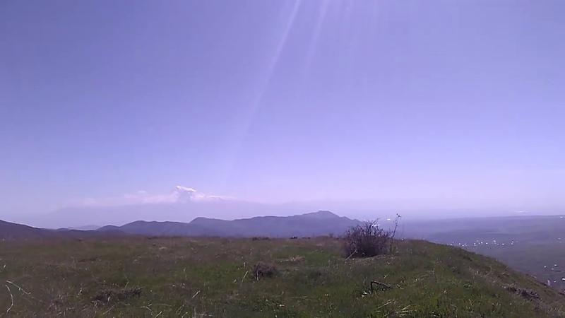 Возвращаемся с гор над монастырем Гегард и над селами Гарни Гохт Гегард май 2019 Армения