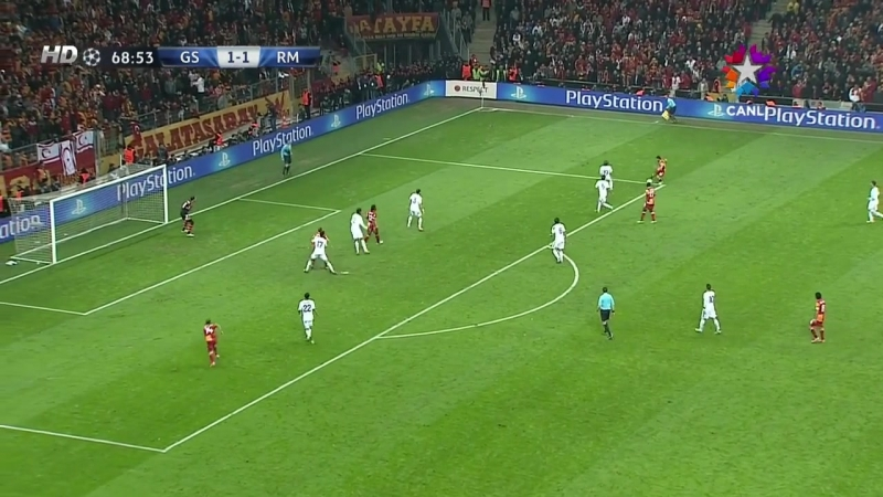 (2012-13 CL10_13) Galatasaray - Real Madrid (Star) (2_2)