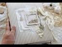 Свадебный альбом/ Ручная работа/ Скрапбукинг/ Wedding album/ Scrapbooking