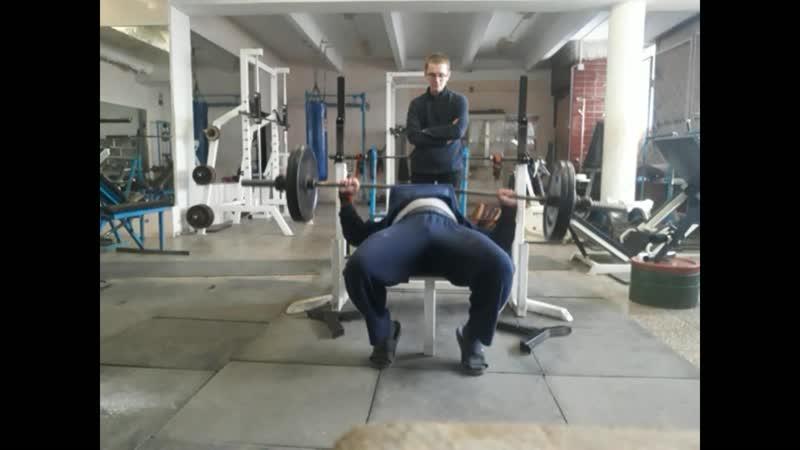 КРЖ 100 кг на 42 раза КА 41 МС КА 42 Собств вес 103 кг