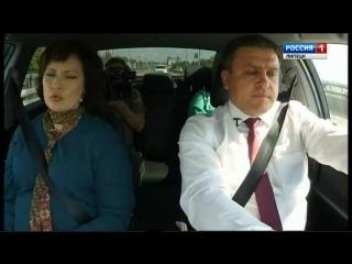У руля   мэр  Липецка Сергей Иванов