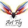 ART FLY  ИМИДЖ-СТУДИЯ - прически,макияж танцорам