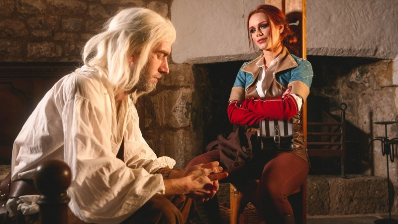 Ведьмак, the witcher, The Bewitcher ПОРНО ПАРОДИЯ Ella Hughes Porn Mir, ПОРНО ВК,