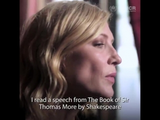 UN Refugee Agency - _I read a speech by Shakespeare written 500 years ago.  The sentiment + the call