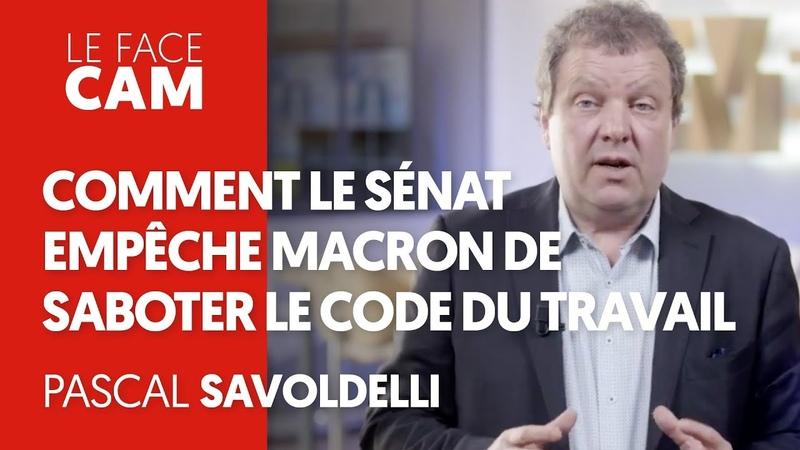 LE SÉNAT EMPÊCHE MACRON DE SABOTER LE CODE DU TRAVAIL