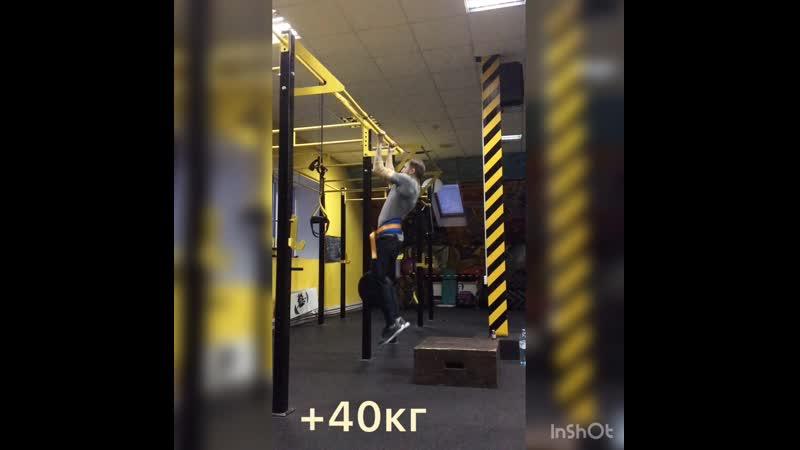 Собственный вес 77 кг.💪Всем новых рекордов Зал @denis_fetengoff подтягивания брусья фитнесвклину фитнесклубклин фитн