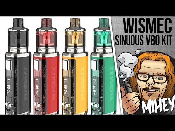 WISMEC SINUOUS V80 Kit with Amor NSE. Интересно. Очень.