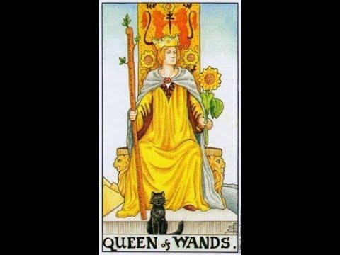 Обучение Таро - Королева жезлов, Королева чаш, Королева пентаклей, Королева мечей