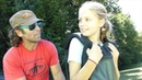 Hang Gliding Interlaken Switzerland 10 year old girl music by Robert Miles Children