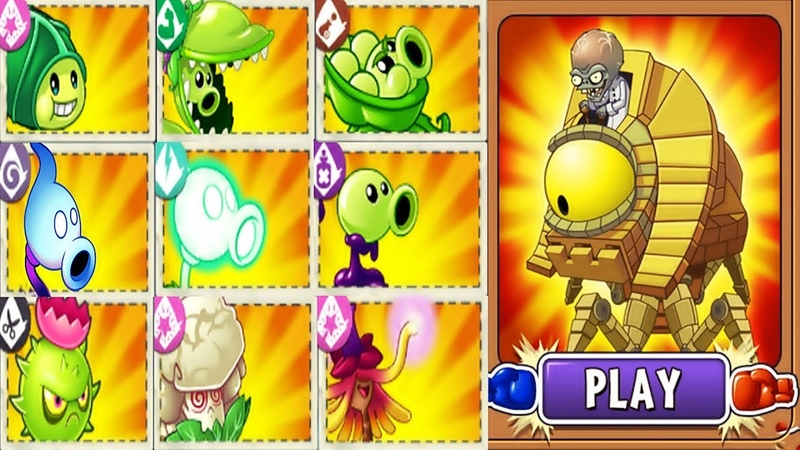Plants vs Zombies 2 BattleZ: All New Premium Pvz 2 Vs Zombot Sphinx-inator