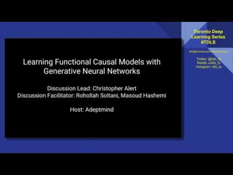 TDLS Learning Functional Causal Models with GANs part 2 results and discussion