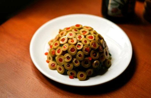 Картофельный салат с оливками, изображение №5