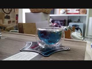 Анчан - тайский синий чай