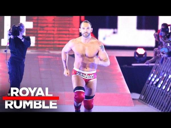 Tye Dillinger is a surprise Royal Rumble Match entrant Royal Rumble 2017
