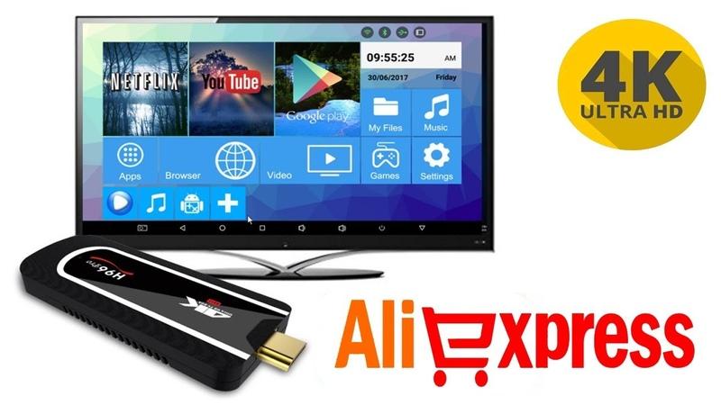 Обзор Mini PC H96 Pro TV Dongle 4k 100% ГОДНЫЙ ТОВАР ALIEXPRESS 2019