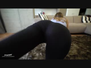 Naughty step brother grinding and cum inside me after… - jennydoll18 [порно, секс, анал, минет, домашнее, porn, sex, teen, anal]