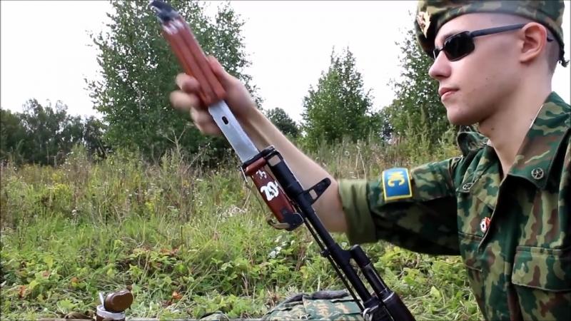 Пехотинец Первой Чеченской (камуфляж барвиха) (видео от 17.08.2016)
