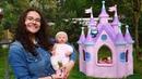 Peppa Pig y Anabelle dan un paseo. Castillo Mágico. Vídeos para niñas