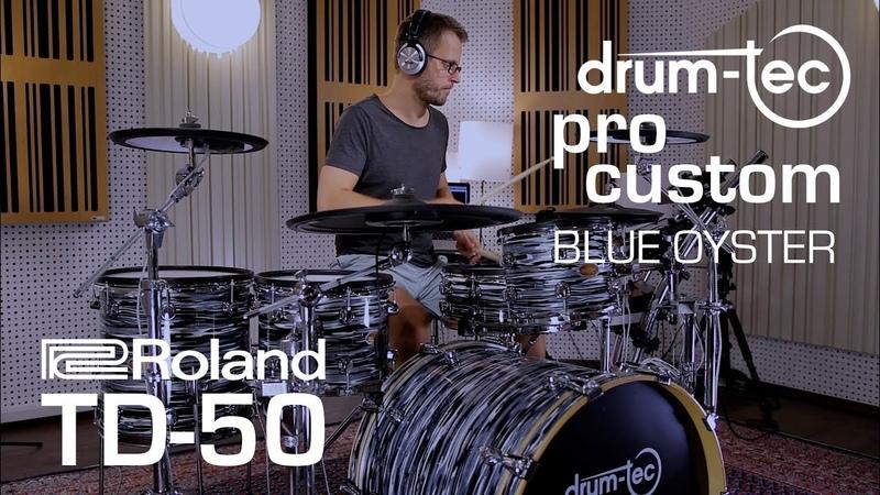 Roland TD-50 sound module drum-tec pro custom electronic drums