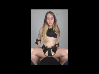 Cheerleader teaching her sex skills to virgin guy (filmed with smart phone)