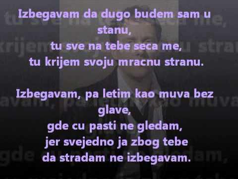 Dzenan Loncarevic Izbegavam tekst lyrics