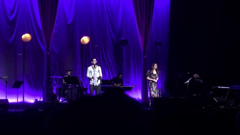Darren Criss and Lea Michele- Suddenly Seymour (LMDC Tour Manchester)