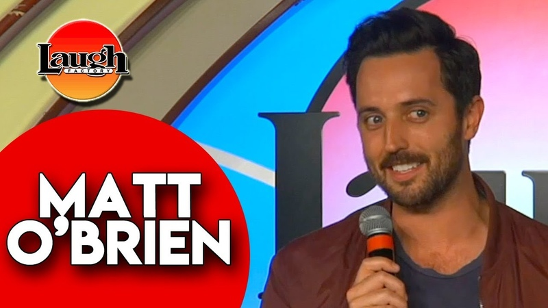 Matt O'Brien Moving to LA Laugh Factory Las Vegas Stand Up Comedy