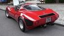 1968 Alfa Romeo 33 Stradale: 2.0 V8 Engine Sound, Warm Up Driving!