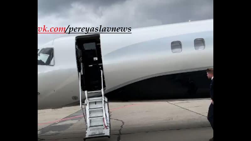 Ці руки руки нічого не крали! Ющенко заказал на ДР внучке частный самолет с личной стюардессой.