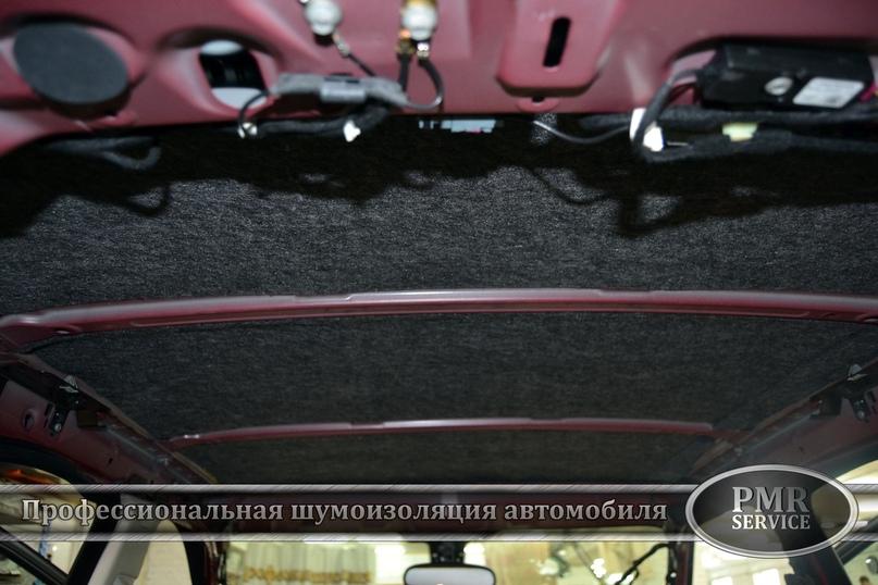 Комплексная шумоизоляция Land Rover Evoque, изображение №8