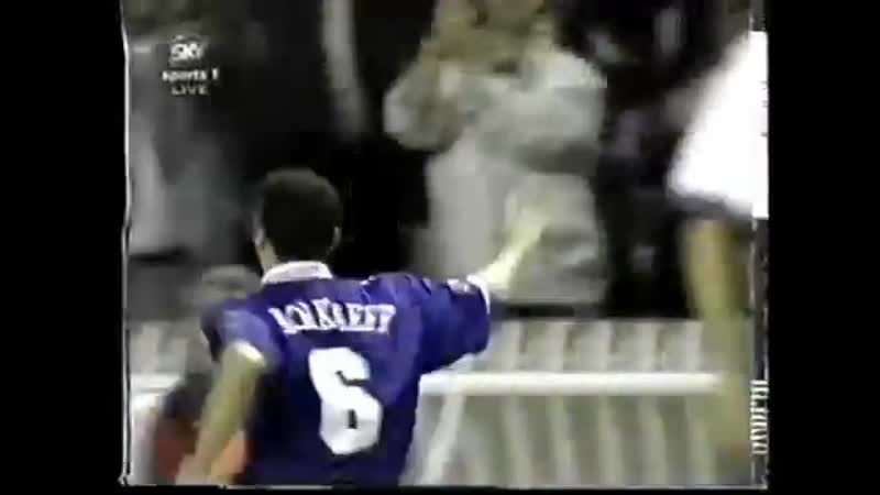 France 2-2 Italy (1997, June 11, Tournoi de France)