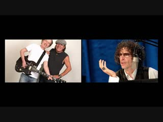 Angus Young & Brian Johnson of AC/DC - Howard Stern Show (2008)